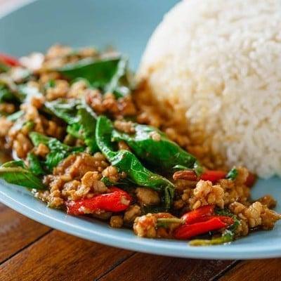 กะเพราหอม-อาหารชุด (Ka  prao Hom - Box Set)