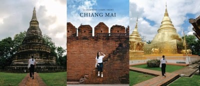 "12 Locations 2 Days 1 Night in ""CHIANG MAI"" จ.เชียงใหม่"
