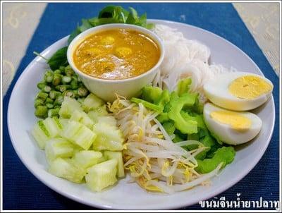 ขนมจีนน้ำยาปลาทู