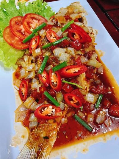 ปลาตะมะราดพริก