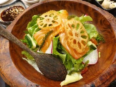 Mini Salmon Salad