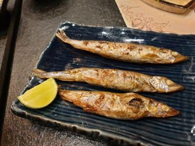 Shisamo Yaki - ปลาไข่ย่าง