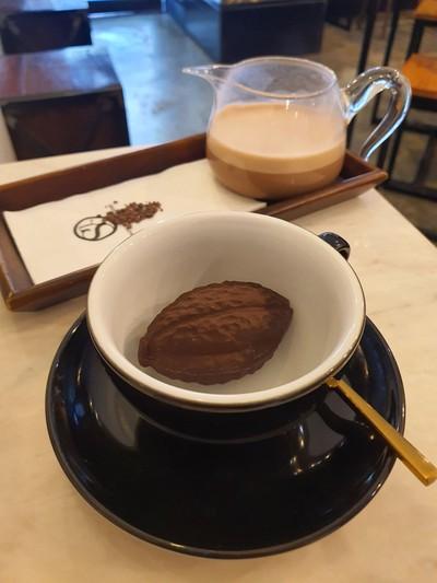 Hot single origin chocolate