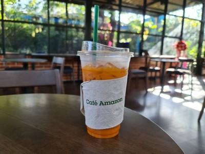 RM1353 - Café Amazon (คาเฟ่ อเมซอน) สน.ปตท. สาขา อยุธยา - เอเชีย ( กม.62 )