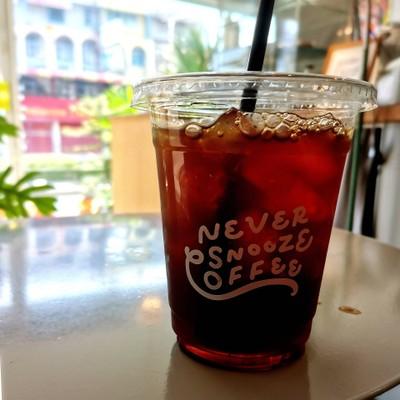 Iced drip coffee (Thai Jomthong)