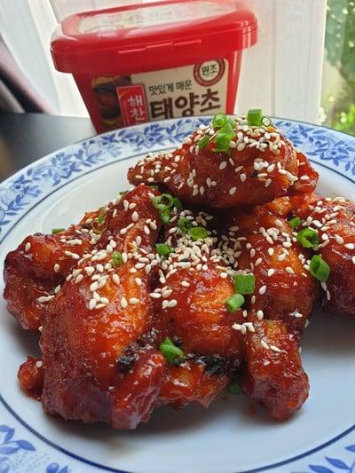 ไก่ทอดเกาหลี 양념치킨
