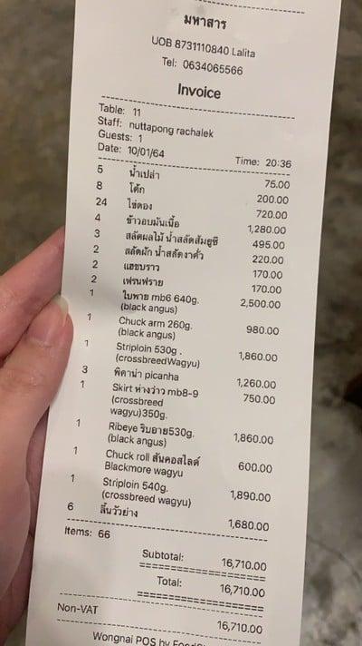 ป้ายราคาหรือสมุดเมนู
