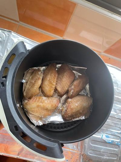 วิธีทำ Air fryer Bonchon chicken wing