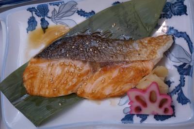 Salmon teriyaki##2