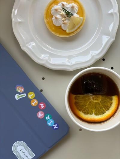 Orange Black Coffee (100฿)
