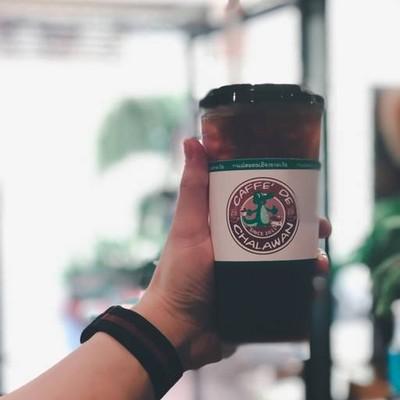กาแฟสดชาละวัน (CAFFE' DE CHALAWAN) (กาแฟสดตนเมืองละวัน) สถานีขนส่งผู้โดยสารพิจิตร