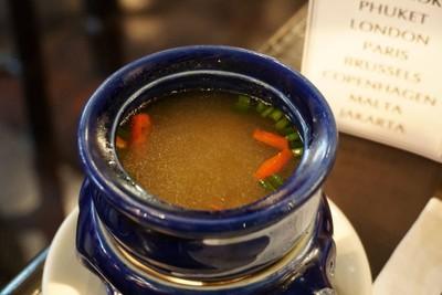 ต้มส้มขมิ้นไก่เบญจา น้ำส้มลูกจาก