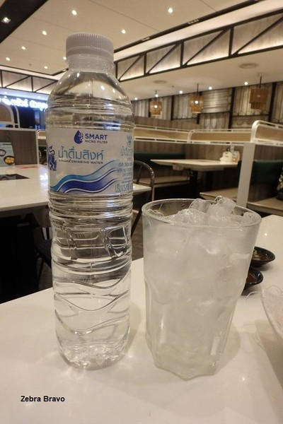 น้ำเปล่า + น้ำแข็ง