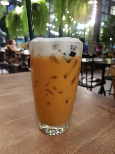 ชาไทยเฉาก๊วยตาหวาน