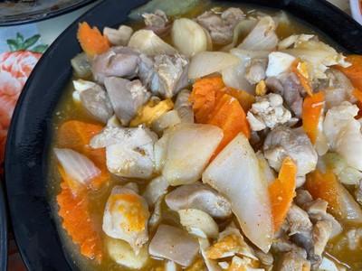 ไก่ผัดไข่เค็ม