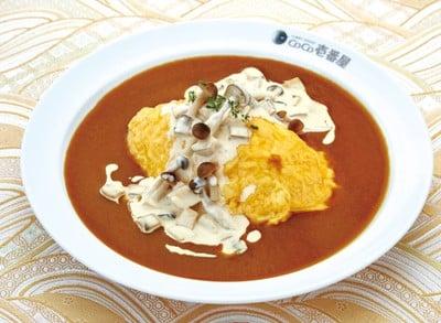 Creamed Mushroom Omelet Curry
