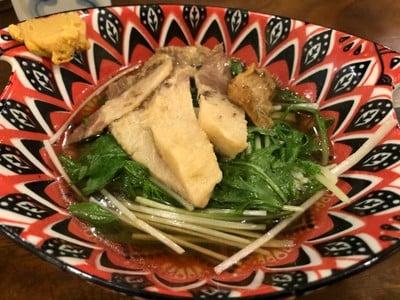 Saezuri Mizuna(ลิ้นปลาวาฬกับผักมิซูนะ)