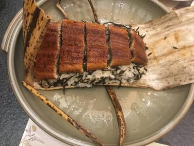 ข้าวปลาไหลห่อใบไผ่