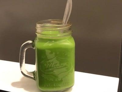 ชาเขียว Moka pot