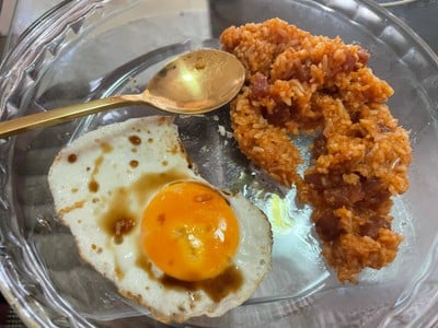 ข้าวผัดอเมริกันแบบไทยไทย