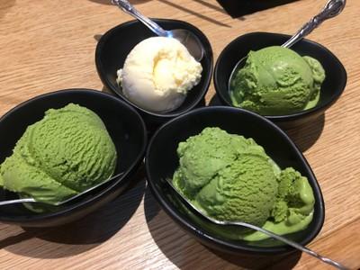 ไอศครีมชาเขียว