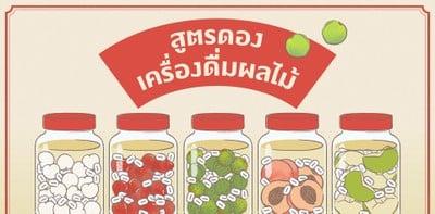 สูตรดองเครื่องดื่มผลไม้ จิบคลายร้อนชิล ๆ ฉลองได้แม้อยู่ที่บ้าน