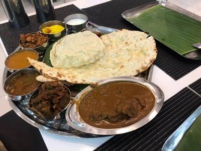 Mutton thali set