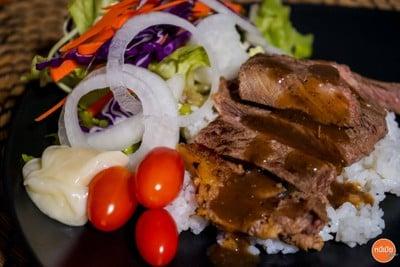 🥩Strip loin Steak + Salad