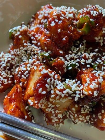 วิธีทำ อกไก่เกาหลี 🐔🇰🇷 ❌ไร้น้ำมัน