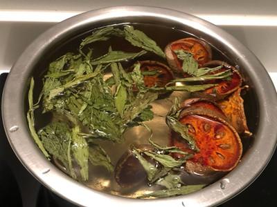 วิธีทำ น้ำมะตูมหญ้าหวาน