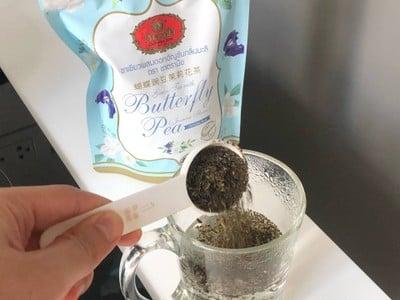 วิธีทำ ชามะลิอัญชันนมสด