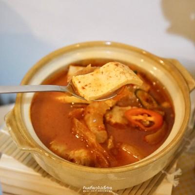 ซุปกิมจิ+ข้าว
