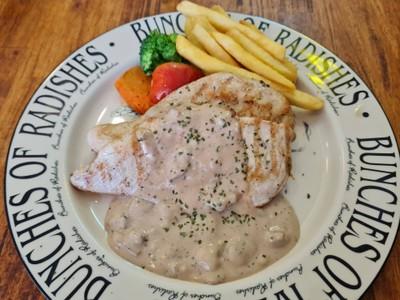 Chicken Steak Mushroom Sauce
