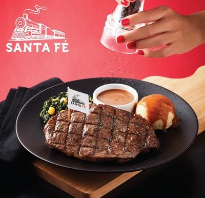 Santa Fe' Steak (ซานตา เฟ่ สเต๊ก) เซ็นทรัล เฟสติวัล อีสต์วิลล์ ชั้น 2