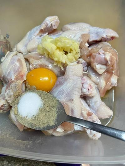 วิธีทำ ไก่บอนชอน สูตรหม้อทอดไร้น้ำมัน