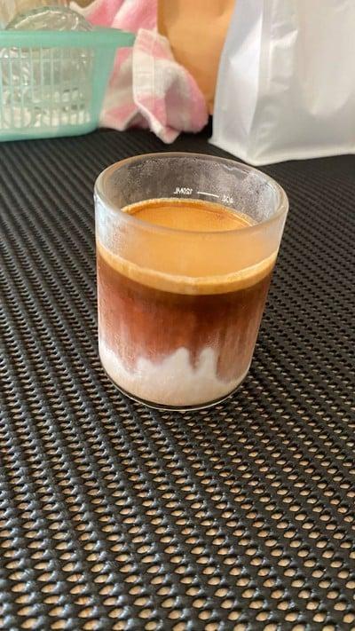 Dirty Coffee