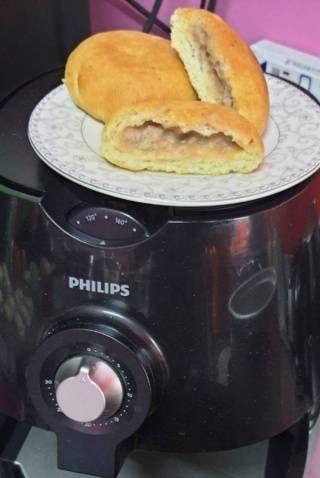 Sweet Taro Fried Potato Bread