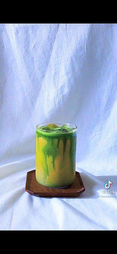 Thai milk tea matcha 🍵