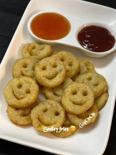 Smiley Fries 😊