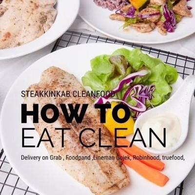 สเต็กกินกับ อาหารคลีน ร้านดัง สาขา 1  ซอยลาดพร้าว 101 (Steak kinkab Clean food Branch 1) สาขา 1