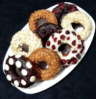 โดนัทคุกกี้ (ทอด)  Basic Cookie Doughnuts
