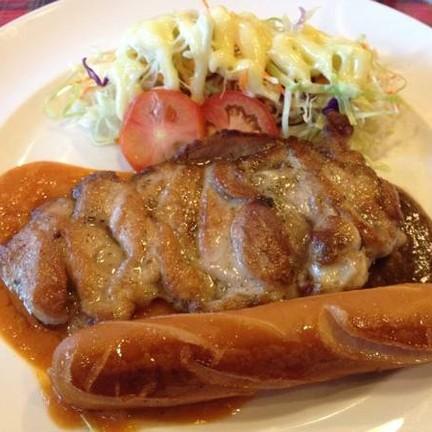 chicken n sausage combination