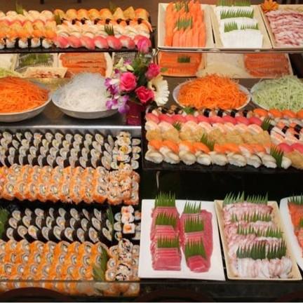 japanese buffet สุดคุ้ม เย็นวันศุกร์ เสาร์ อาทิตย์ กว่า30 รายการ สุดยอด
