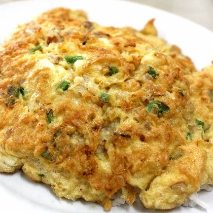 ข้าวไข่เจียวหมูสับ