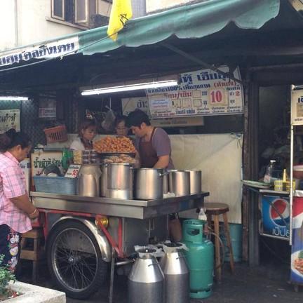 หน้าร้านน้ำเต้าหู้เฮียฮุย