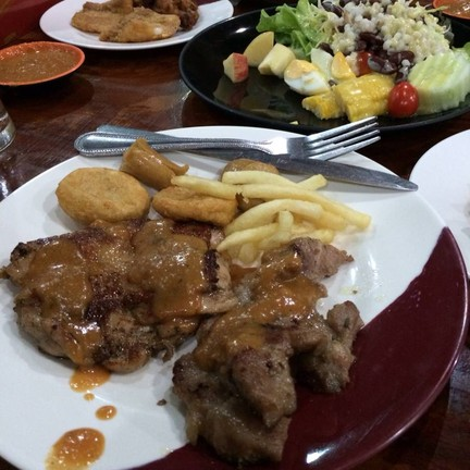 Pork & Chicken Steak