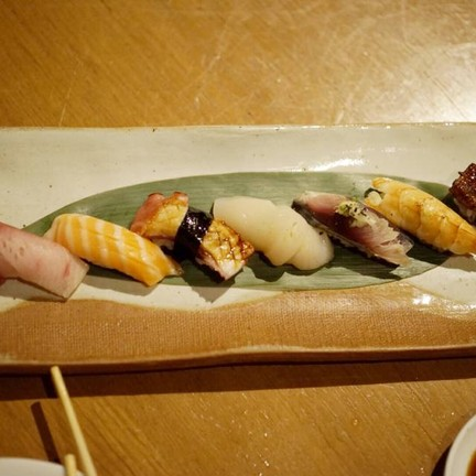 9 Pieces Of Chef Selection's Sushi Platter