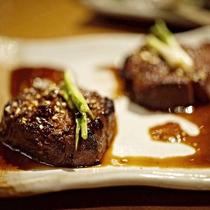 Spicy Beef Tenderloin With Red Chilli, Sesame And Soy