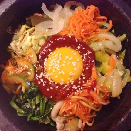 บิบิมบับ ข้าวยำเกาหลี