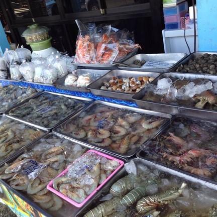 อาหารทะเลที่ชี้เลือกได้เลยจะทานอะไร